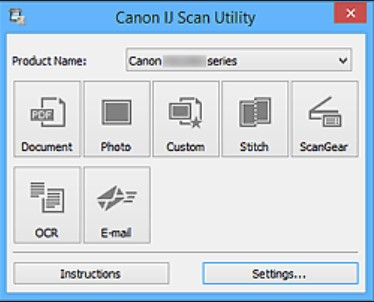 Canon IJ Scan Utility Not Working | IJ Scan Utility